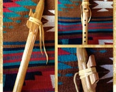 5-hole Canarywood Native American Style Flute in C-sharp Minor