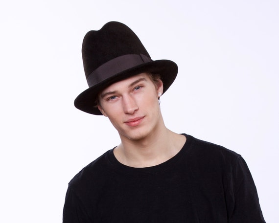 Men's Homburg Hat Spring Fashion Tall Hat Top Hat Spring Accessories Men's Accessories Men's Dress Hat Formal Men's Hat Gift For Men