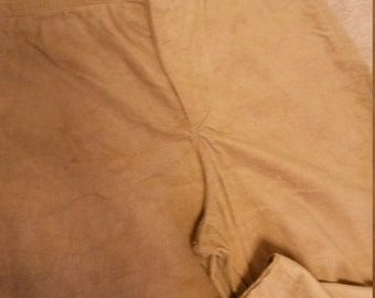 """READY to SHIP Gent's Victorian Edwardian High Waist Fishtail Trousers W:34-36"""" short"""