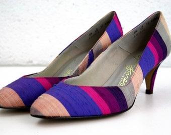 Size 7-7.5: Vintage Ladies Heels