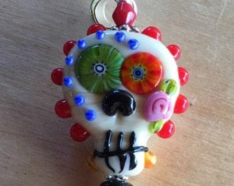 Day of the Dead Hallowen Pendant
