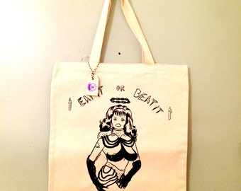 2 left- Eat it or Beat it Tote