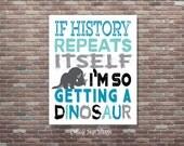 Dinosaur Nursery, Dinosaur Wall Art, Baby Boy Nursery Wall Art, Boys Room Art, INSTANT DOWNLOAD, Playroom Wall Art, Boys Room Decor