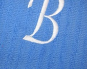 Monogrammed Kitchen Towel - SALE- Initial, Personalized