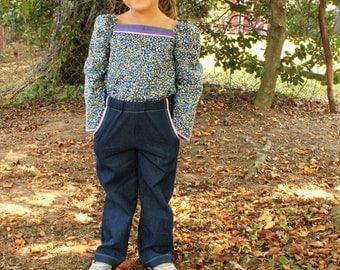 Paneled Sunsuit PDF Pattern - Now with Sleeves!