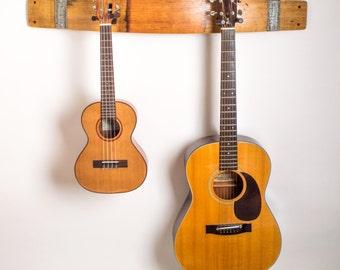 Napa Valley Wine Barrel Double Guitar Rack