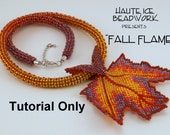 """Tutorial for """"Fall Flame"""" Leaf, Bail and Rope"""