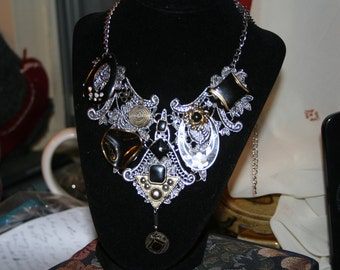 Midnight Gypsy/ Statement Necklace