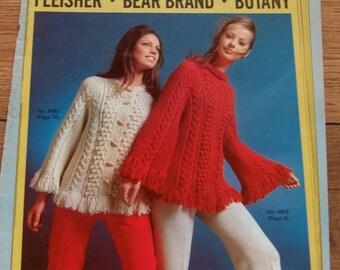 Vintage 1971 Knitting and crochet  patterns Newsmakers vol. 456 blazer tops pants hats