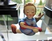 Goebel Angel Playing a Lute 238A West Germany Figurine