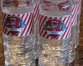 """Paw Patrol Inspired """"It's a Paw-Ty for"""" Personalized Water Bottle labels - Digital File"""