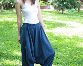 SALE 18% OFF--B003--Fine cotton harem pants.