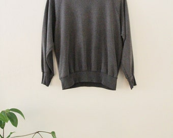80's Dark Grey Sweatshirt