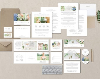 Wedding Planner Marketing Templates - Event Coordinator Pricing Guides - Printable Branding Templates - Design By Bittersweet