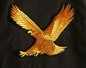 Eagle Back Patch / Biker Patch / Huge Patch / Harley Davidson Eagle