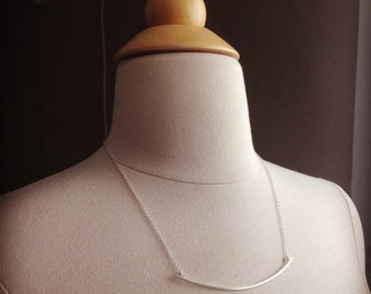 Squared Arc Necklace
