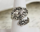 Lion Spoon Ring