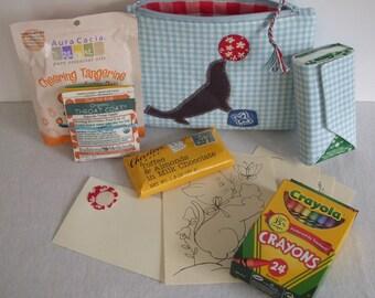 Child Friendly Get Well Soon Care Package, Handmade Zipper Bag
