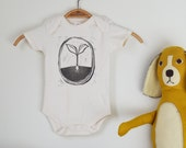 Little Plant Organic Onesie - Unique Onesie for A Nature Loving Baby - Organic Baby Onesie  - New Baby Gift - Baby Shower gift