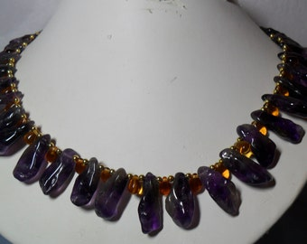 Purple Passion - Amethyst Drops Necklace (5/2016)