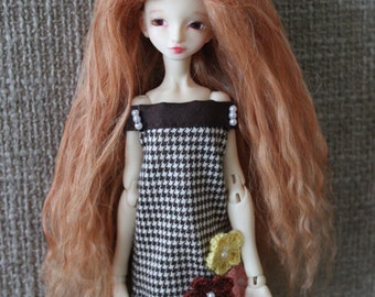 Sweet Strawberry Blonde mohair wig for HeartStrung Ruse, PukiPuki, Bjtales Phantom or Aerica
