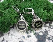 Typewriter Key Jewelry - Earrings -  No E241