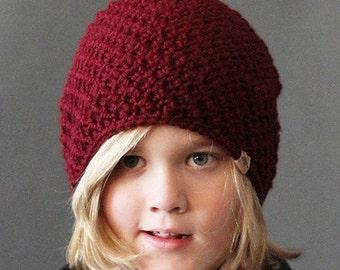 Crochet Slouchy Hat PATTERN Cumberland Slouchy Crochet Slouchy Hat Pattern 6 sizes Included