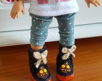 Blythe Lati Yellow Pukifee Mui Chan Neo Blythe boots Ena enamorada handmade