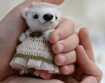 Marisa - artist miniature mini micro bear by TSminibears