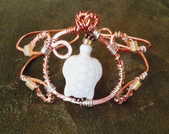 Turtle Beach Copper Wire Bracelet