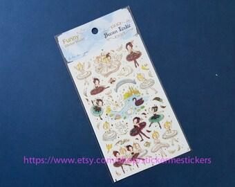 swan lake sticker - funny sticker world