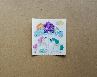 Sandylion Sticker - Unicorns and Castles