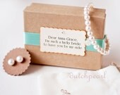 Gifts for Bridesmaids Pearl Bracelet and Earrings Sets  -  pearl bracelets wedding pearl studs -  bridesmaid gift dutchpearl wedding
