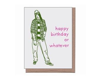 Grunge Birthday Card