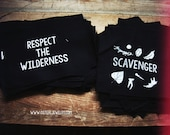 Patches - Scavenger, Respect The Wilderness, vulture culture, adventure