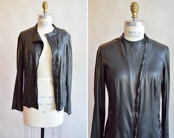 SALE / Vintage lamb LEATHER jacket