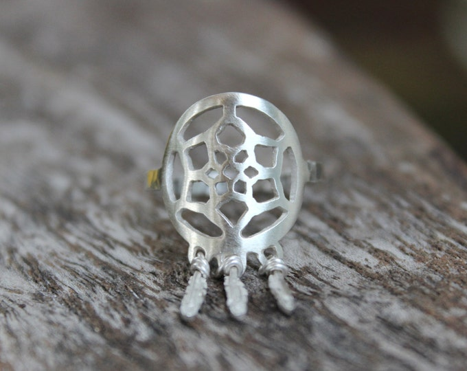 Rebellious Dreamer - Dreamcatcher Ring