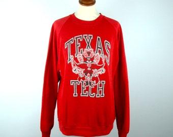 1980's Texas Tech Sweatshirt