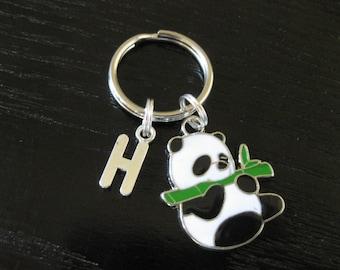 Personalized Panda - Key Ring