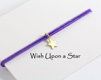 Make a Wish Star Charm Bracelet