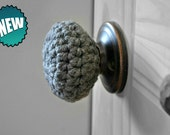 3 Child Safe Door Knob Covers Modern Design Toddler Protection Crocheted Home Decor Custom Colors