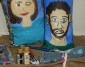 Artist paintbush Roll set, Paint Brush roll, art organizer, paint brush storage, artist travel roll