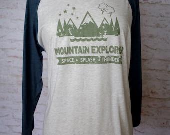 mountain explorer, disney mountain shirt, space mountain, splash mountain, big thunder mountain, disney vacation shirt, disney bounding