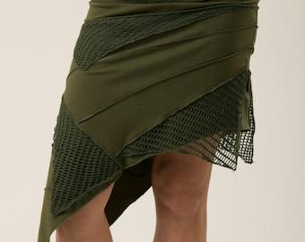 Pixie skirt with net - Fairy skirt - Festival clothes
