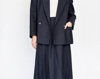 Christian Dior 2 piece blazer + pleated skirt