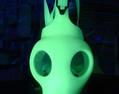 GLOW In THE DARK - Brand New, Unworn, Non-Military Israeli Style Full Face Survival Gas Mask-A Burning Man Playa Black Rock City Must Have