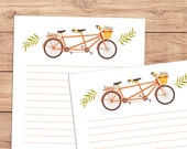 Riding Together - A5 Stationery - 12, 24 or 48 sheets