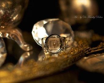 Keepsake Necklace by Fae Factory Steampunk Artist Dr Franky Dolan {Handmade Steampunk Jewelry Antique Pocket Watch Case Steampunk Necklace}