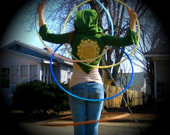 Flow Hoodie! Organic Cotton with Mandala