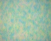 Speckled Pastel Fleece, Wide Knit Fabric, Green Blue Pink Yellow, Heavy Weight Polyester, half yard, B3